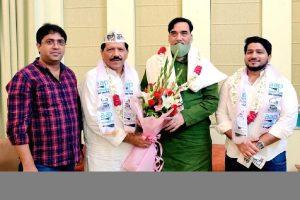 Delhi Congress' Secy Haji Meherban Qureshi joins AAP