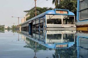 Heavy rainfall in Kolkata, adjoining areas