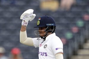 Women's Test: Shafali saves India from slipping on rainy day