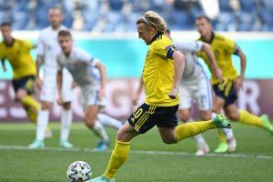 Euro 2020: Sweden beat Slovakia 1-0