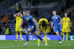 Ukraine made it to the Euro 2020 quarterfinals