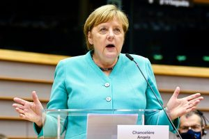 German Chancellor Merkel defends patent protection for Covid vaccine
