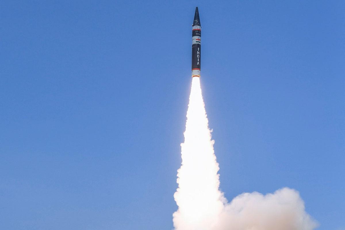 Agni Prime Missile Test-Fired From Odisha Coast - The Statesman