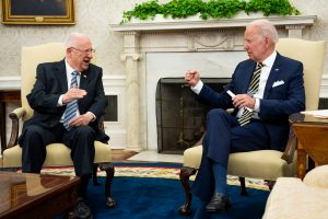 'Iran will never get a nuclear weapon': Biden to Israeli counterpart
