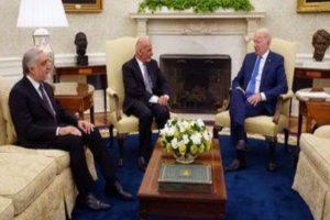 Biden meets Afghan leaders at WH amid security worries