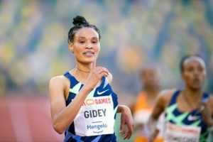 Ethiopian Gidey breaks 10,000m world record