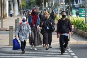 Indonesia records highest spike in daily Covid cases