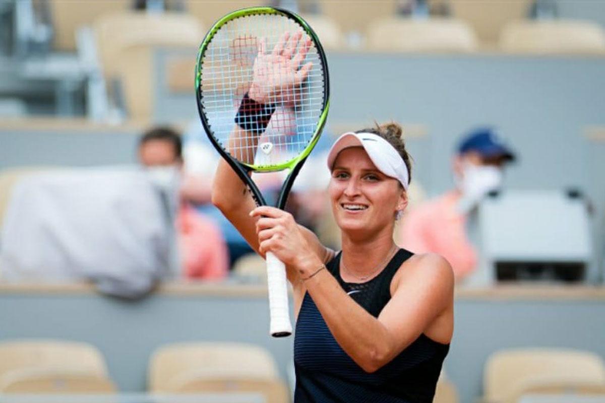 French Open, 2019 finalist, Vondrousova