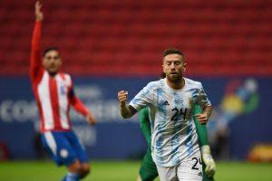 Gomez sends Argentina into Copa America quarterfinals