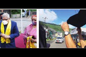 TMC, Bimal camp protests greet Guv in Darj
