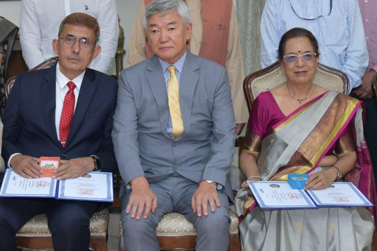 The Order of Polar Star, Mongolian award, Indian