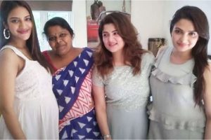 Nusrat Jahan flaunts baby bump