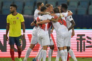 Copa America:  Peru beat Colombia