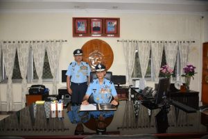Fighter pilot appointed chief of Hasimara AFS