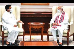 Suvendu apprises PM Modi about Bengal scenario