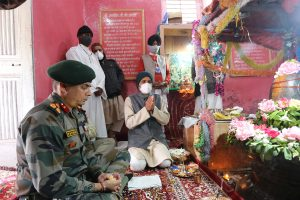 Century old temple at Gulmarg renovated by Army