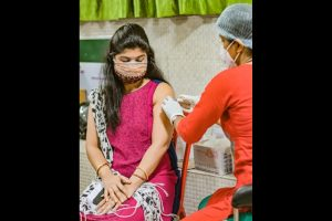 Vaccinations breach 10 lakh doses in Bhubaneswar