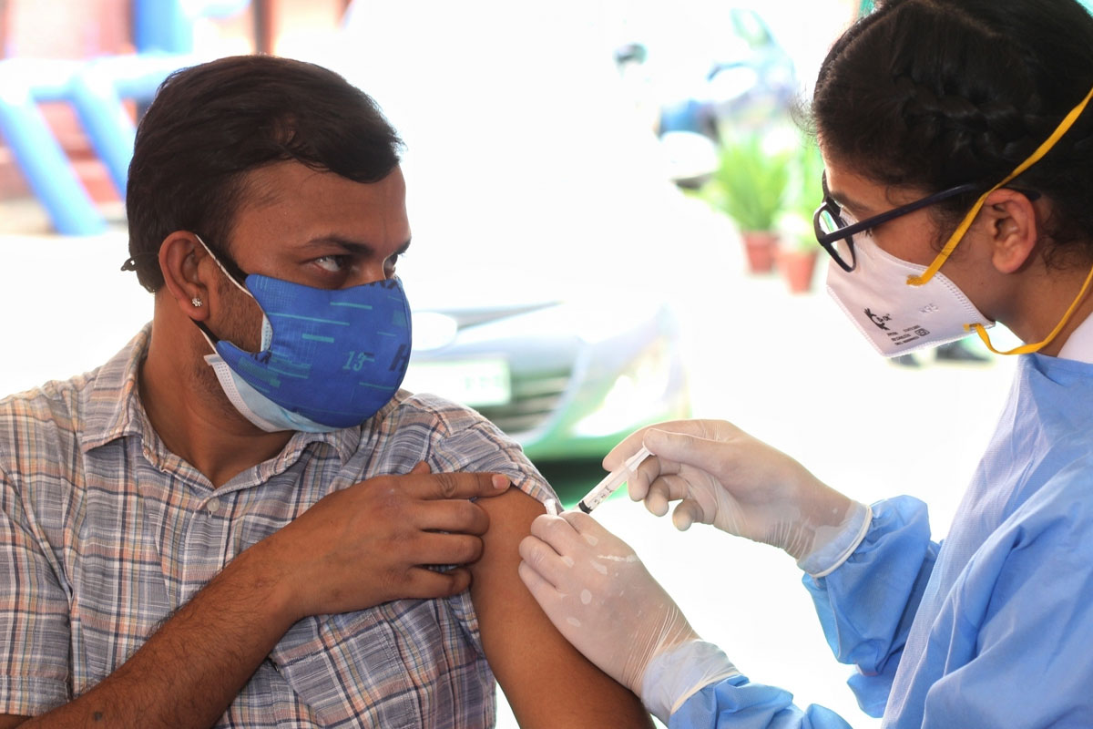 Meerut district, Covid 19 vaccination, health department