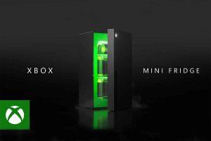 Microsoft introduces Xbox Series X-shaped mini fridge