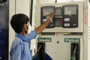 Jump in petrol price, diesel rate a tad slower