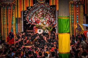 Devotee-less Rath Yatra of Lord Jagannath held in Puri amid pandemic restrictions