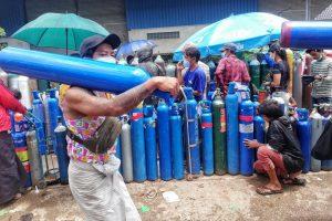 Myanmar junta's Covid cudgel