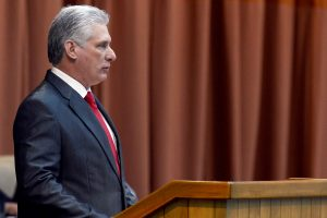 Cuban President accuses US of stoking social unrest
