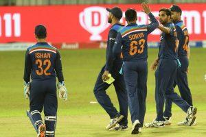 1st T20I: India beat Sri Lanka by 38 runs