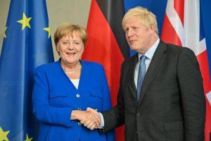 Merkel signals easing travel rules for UK visitors