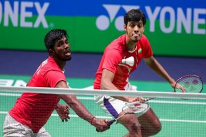 Rankireddy-Shetty lose to Indonesian pair in men's doubles