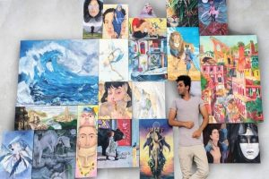 Canvasses become mirrors to viewers' minds in this virtual art show