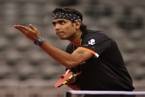 Sharath Kamal reaches 3rd round with hard-fought win