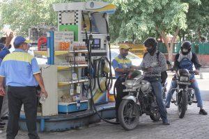 Petrol price rises again, diesel rate unchanged