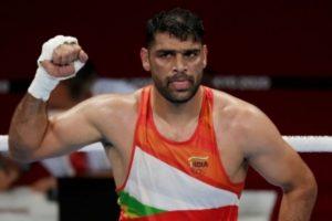 Olympics: Boxer Satish Kumar defeats Ricardo Brown of Jamaica