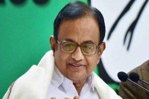 Refusing to discuss issues, BJP diminishing democracy: Chidambaram