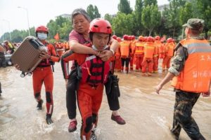 Death toll rises to 58 in China's rain-ravaged Henan