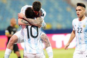 Argentina beats Ecuador at Copa