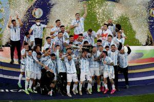 Argentina beats Brazil 1-0, wins Copa America title