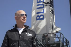 Blue Origin: Jeff Bezos launches to space, touches Karman line, lands back safely