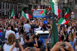 Europe's soccer champions come home to Rome