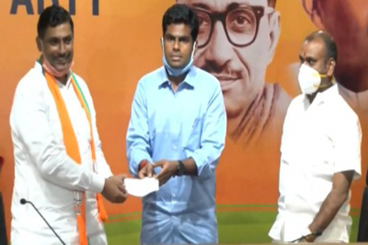 new, BJP. President, takes, charge