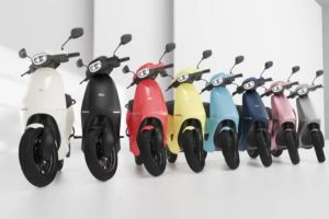 Ola electric scooter offers widest range of  colour options