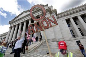 QAnon has receded from social media — but it's just hiding