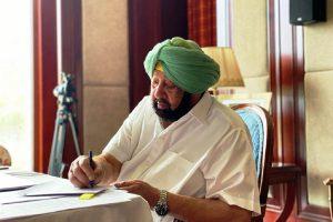 Capt Amarinder resigns as Punjab CM