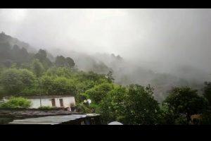 Cloudburst reported near Amarnath shrine