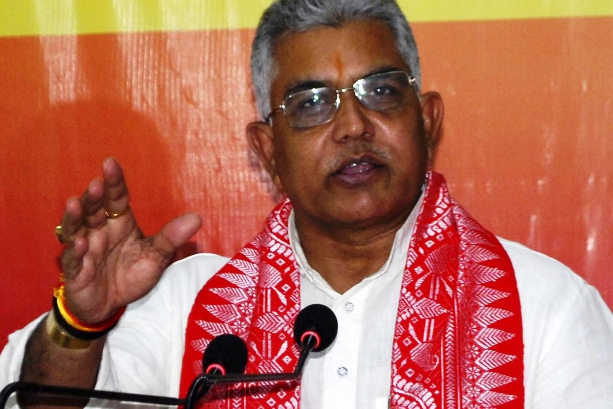 BJP, TMC, Dilip Ghosh