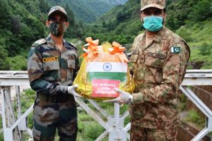 Indian Army, BSF exchange sweets with Pakistani counterparts on Eid