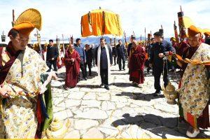 Xi in Tibet