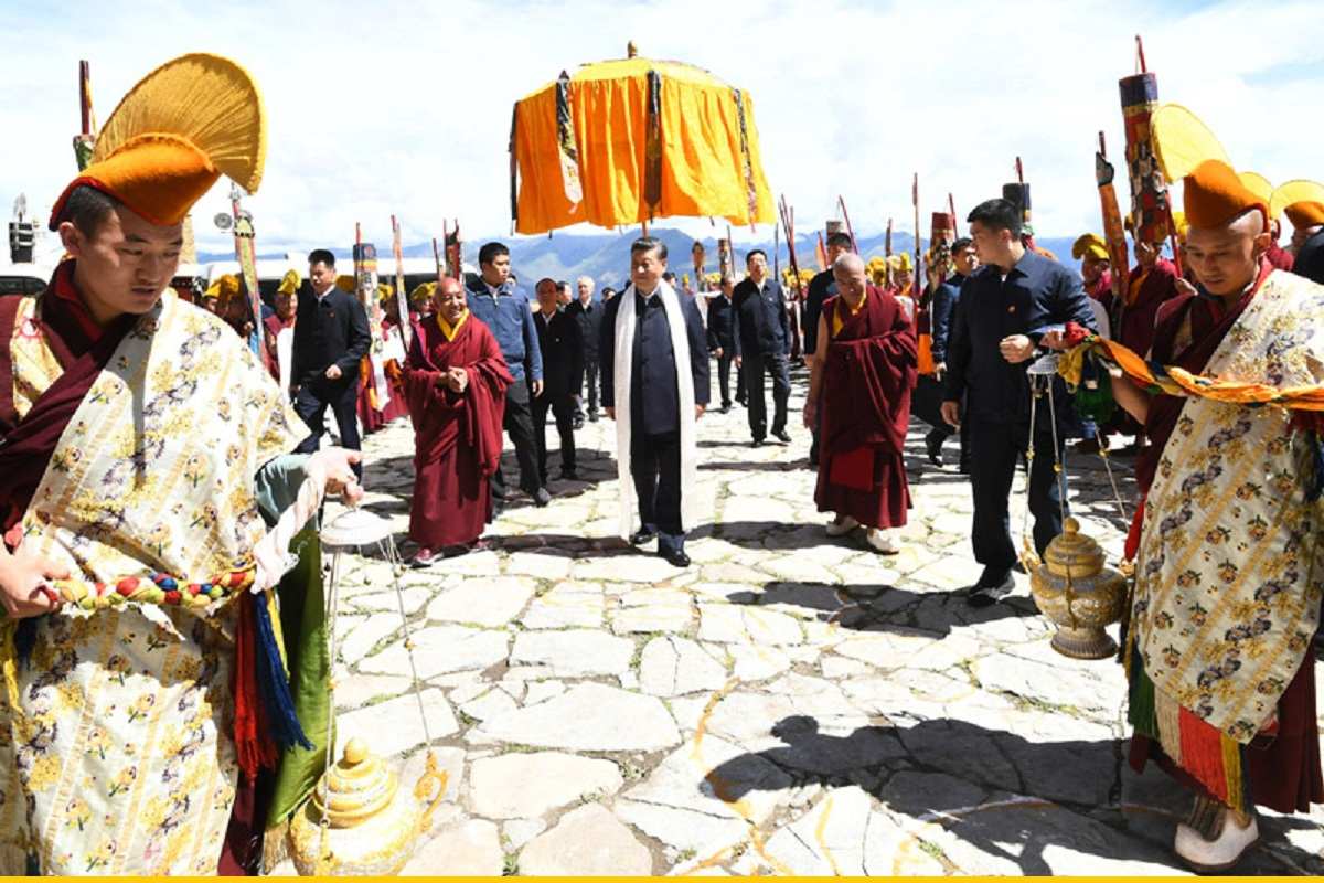Tibet, China, Communist Party of China