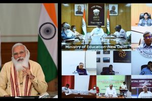 PM interacts with Directors of Centrally Funded Technical Institutions